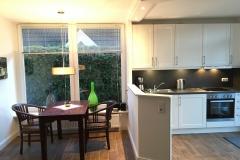 Küche und Essbereich Muschel