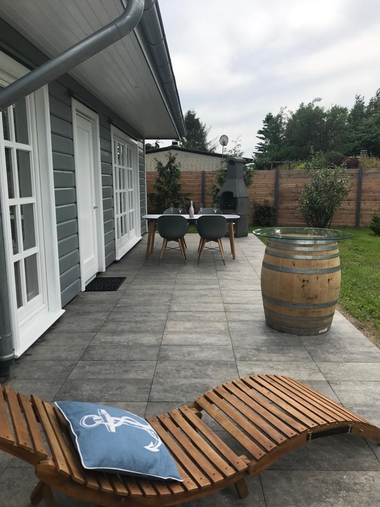 Ostseeperle Terrasse