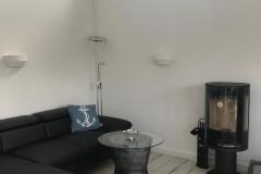 Ostseeperle Sofa mit Kamin